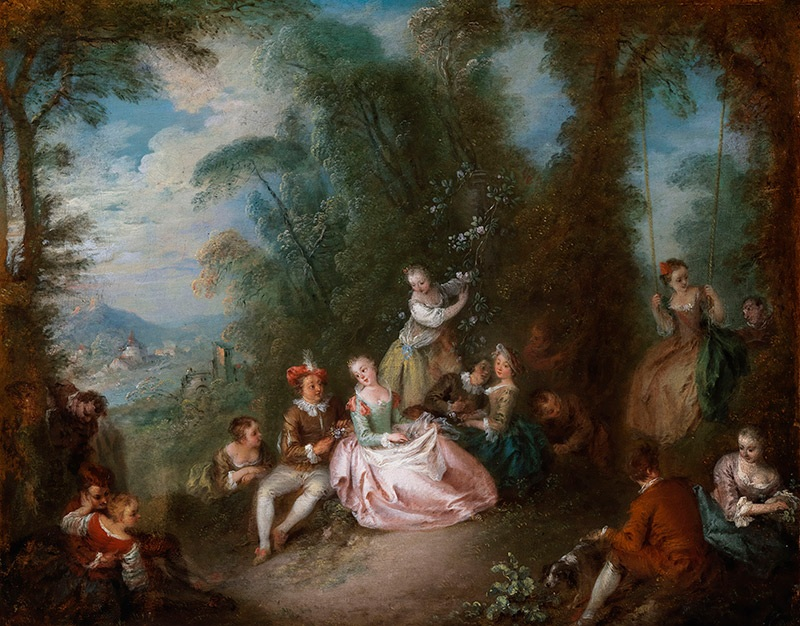 Fete Champetre by Jean Babtiste Pater