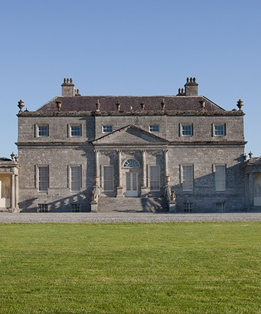 Front of the Russborough House